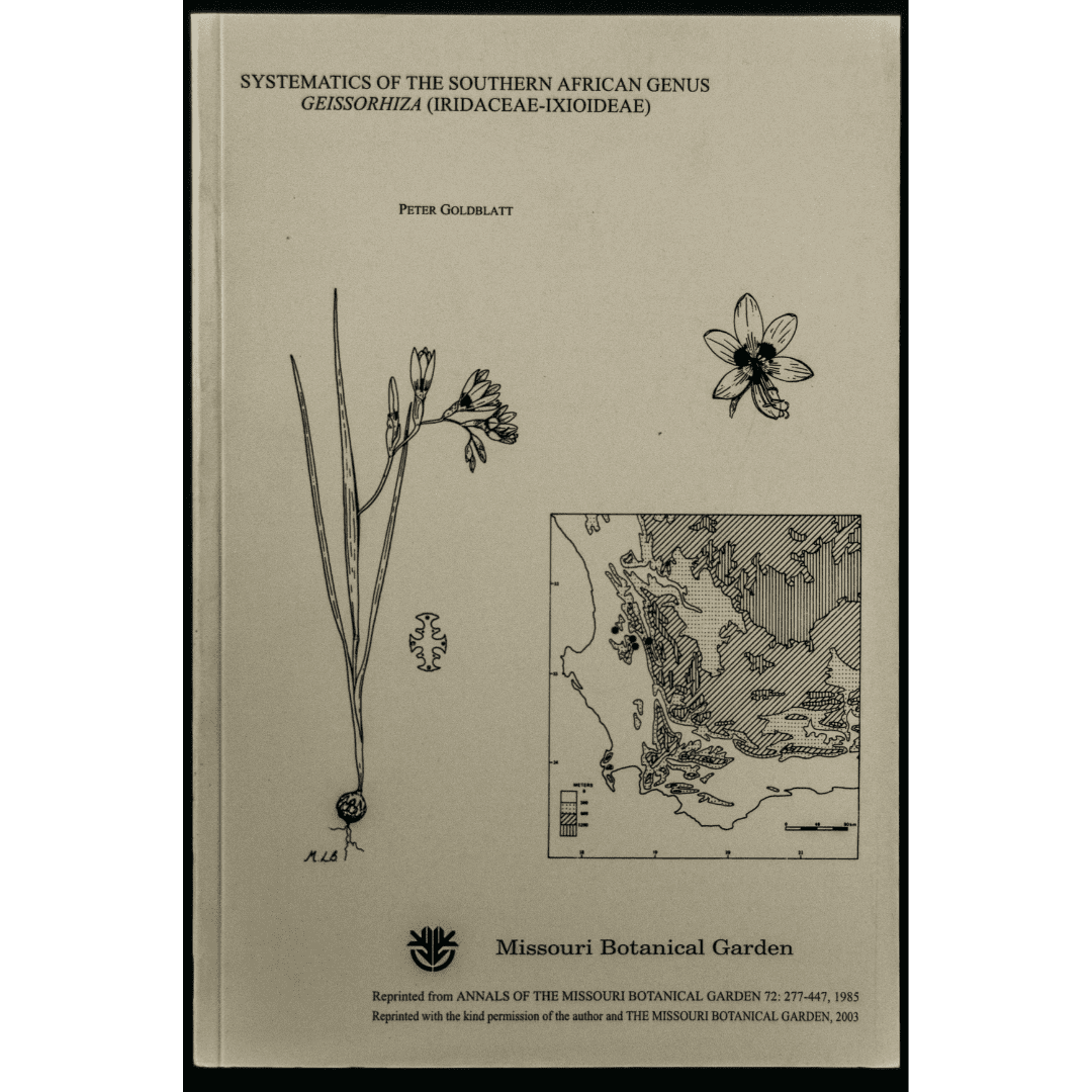 Systematics of the Southern African Genus Geissorhiza