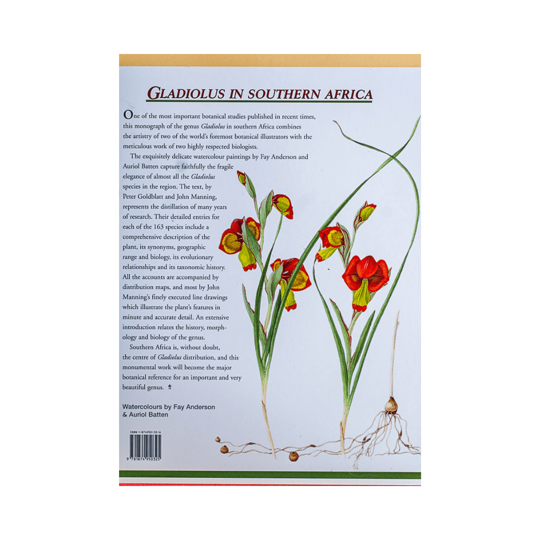 Gladiolus in Southern Africa