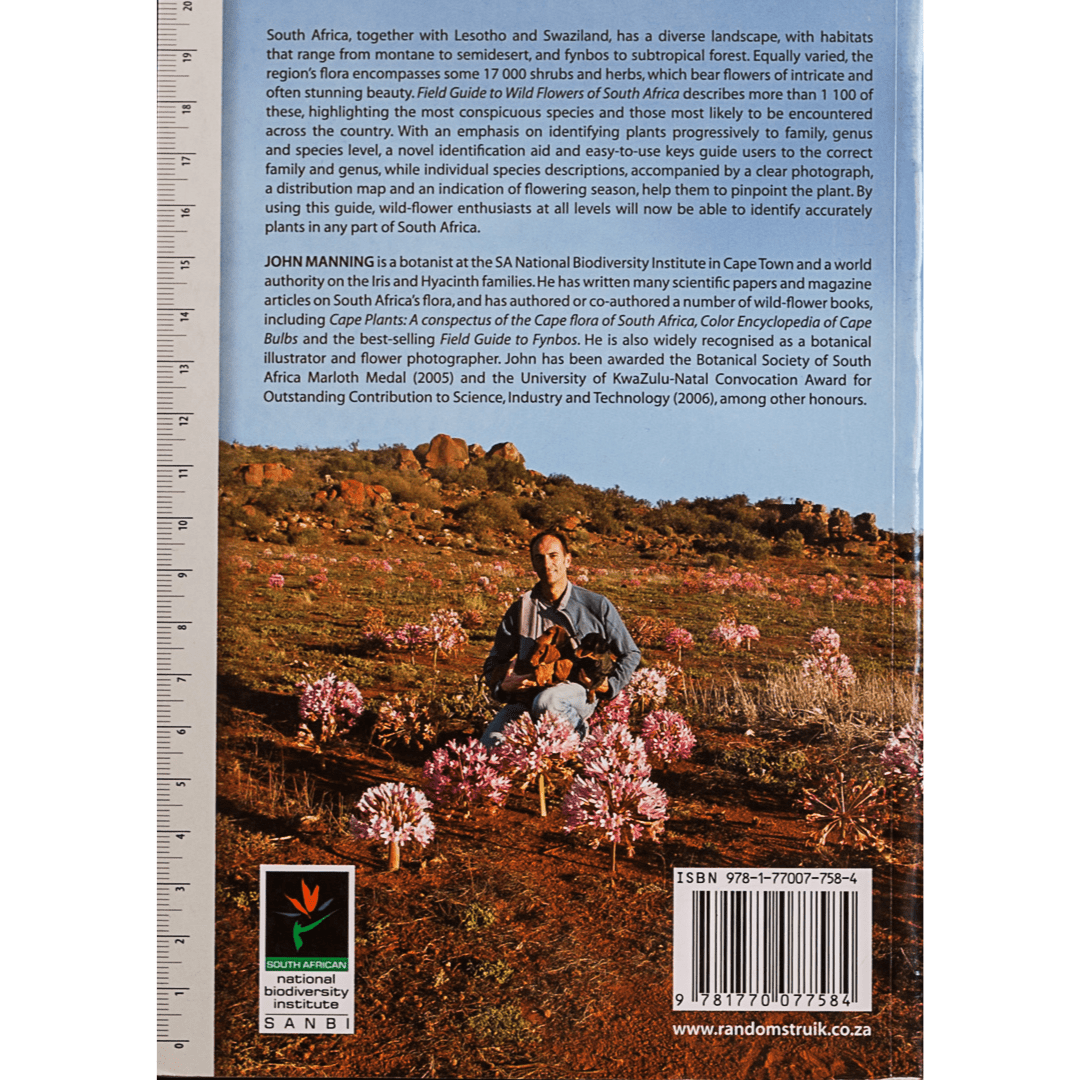 Field guide to Wild Flowers of South Africa b