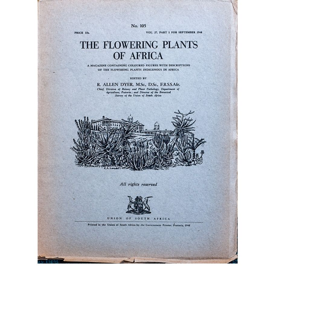 The Flowering plants of Africa No 105