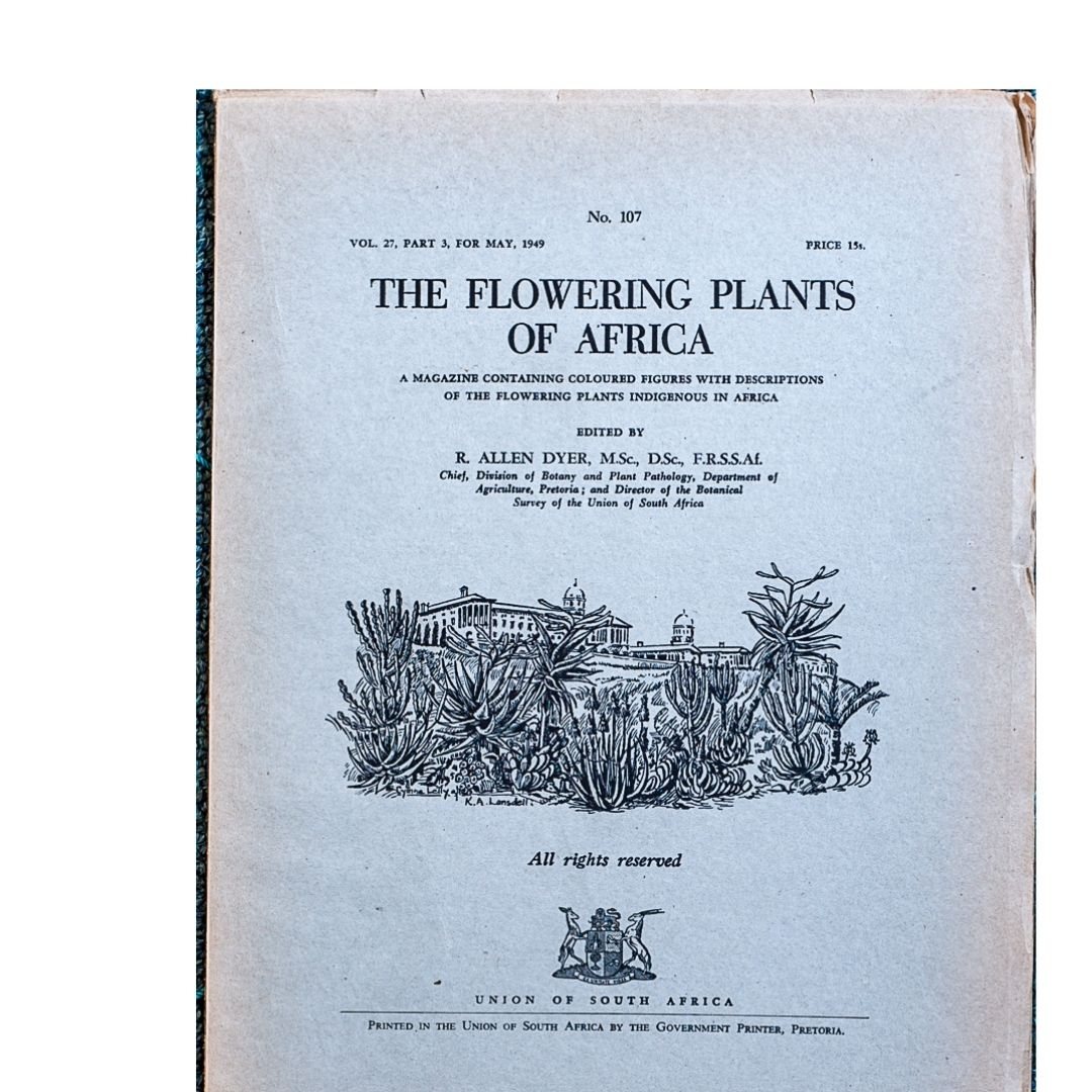 The Flowering plants of Africa No 107