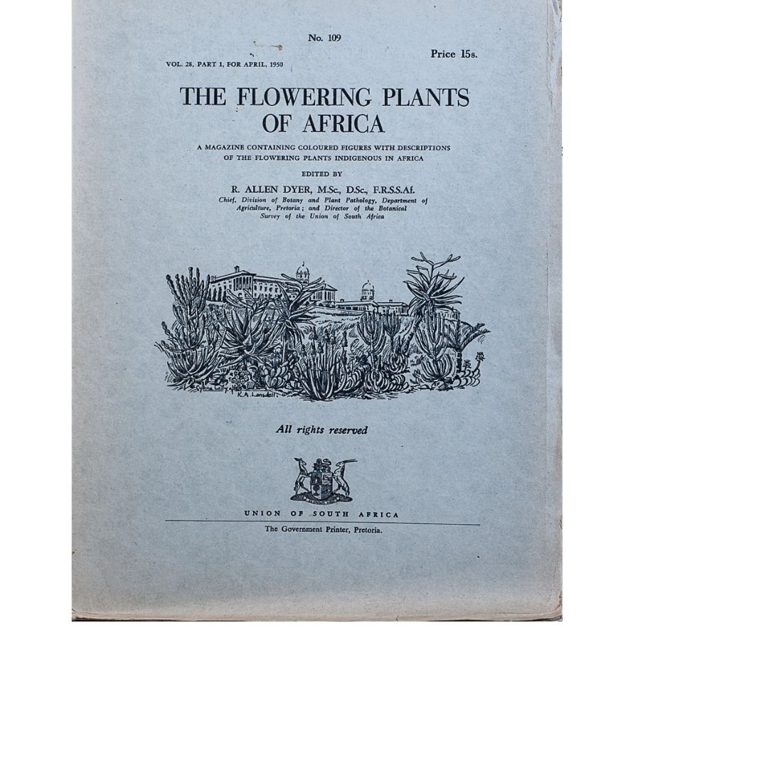 The Flowering plants of Africa No 109