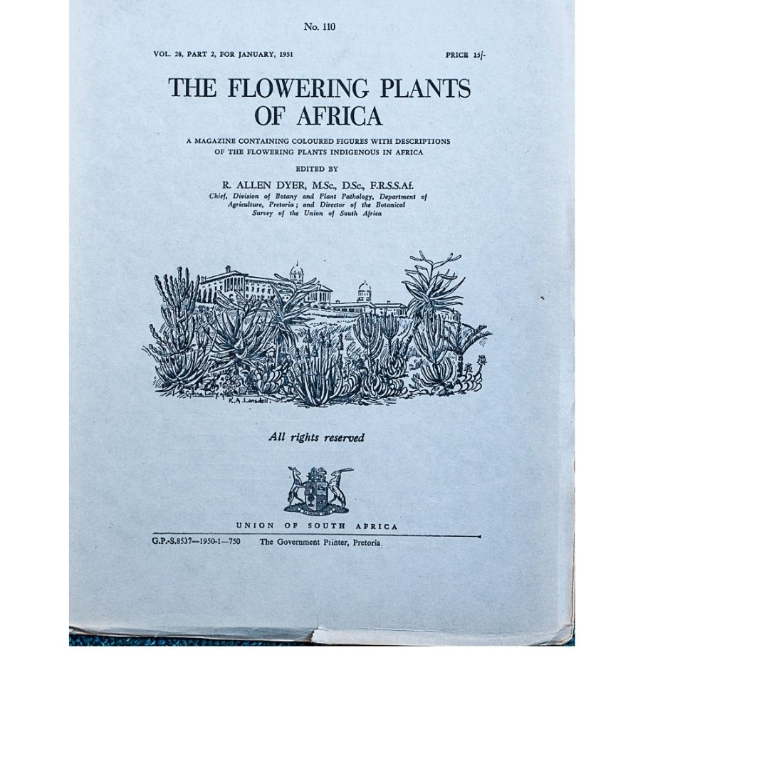 The Flowering plants of Africa No 110