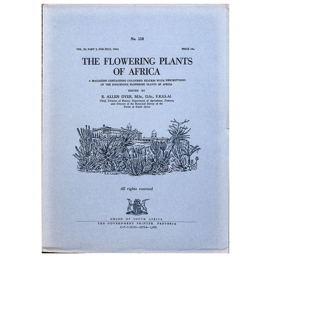 The Flowering plants of Africa No 118